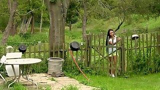 Hot Ass Lesbians Having Some Nasty Outdoor Fun On A Farm