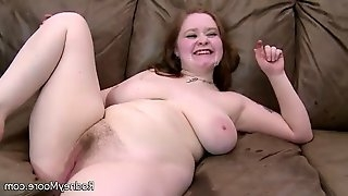 Chubby girl with amazing body