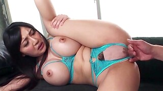 Horny ecumenical Miki Ichiki moans swath to the fullest getting her ass banged