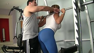Amazing sex with Ava Devine for her lucky gym instrucor